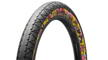 Insight: GT Bicycles - Junk Food Tire   Details: http://bmxunion.com/daily/insight-gt-bicycles-junk-food-pool-tire/  #BMX #Bike #bicycle #Junkfood #pizza #donuts #Style #GT #GTBicycles