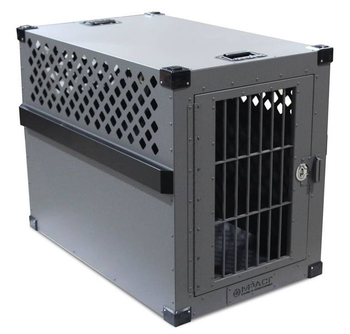 Heavy Duty Dog Crate - Escape Proof Aluminum Construction