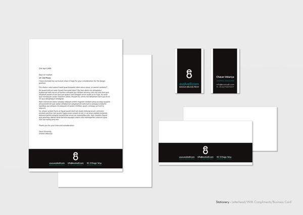 STATIONARY - LETTERHEAD   COMPLIMENT SLIP   BUSINE on Behance - compliment slip template