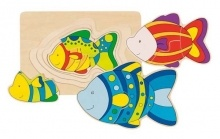 Puzzle 4 v 1 Rybky - Puzzle pre najmenších - Puzzle - Hry a puzzle - Hračky a Detský nábytok- Detský Sen - Maxus