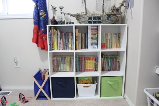 How to organise a child's bedroom to make better use of the storage and items you already have availlable!