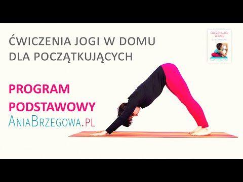 Ćwiczenia jogi w domu dla początkujących - program podstawowy - YouTube