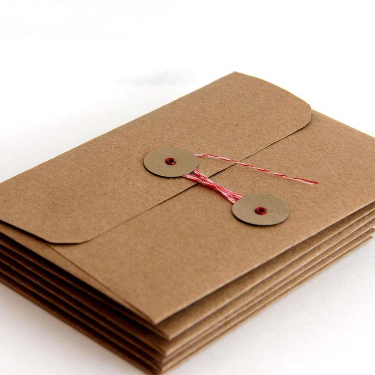 Very Kraft Envelopes With String Closure @UH87