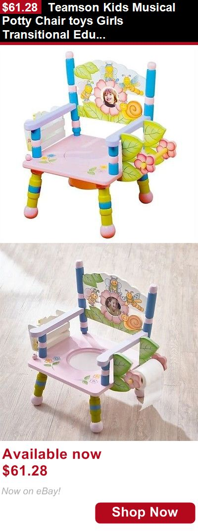 Potty Training: Teamson Kids Musical Potty Chair Toys Girls Transitional Educational BUY IT NOW ONLY: $61.28