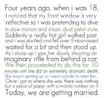 AWWWWWW! That was the most adorable thing I have ever read :') sorry but I just had to pin this to something :)