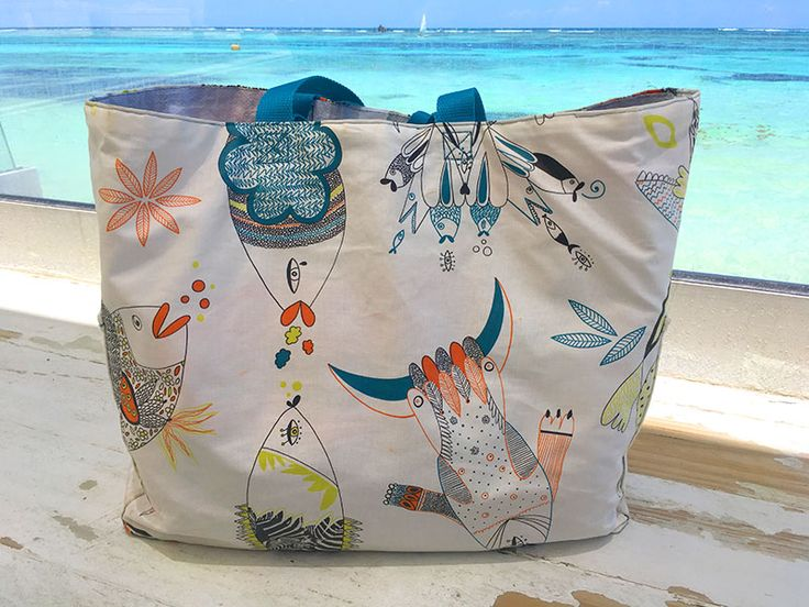 tuto sac de plage croklune couture sac de plage. Black Bedroom Furniture Sets. Home Design Ideas