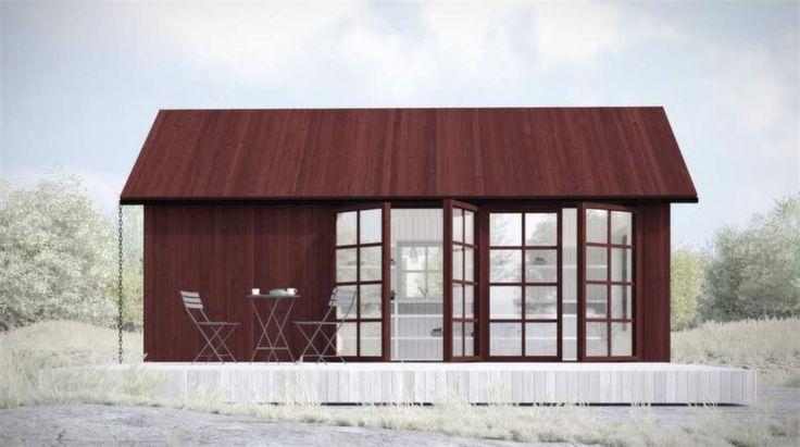 <strong>Hög klassisk c/o 25</strong><span>Fyra meter hög med  sadeltak och takutsprång samt 15 kvadratmeter altandäck. Panel behandlad  med matt slamfärg i faluröd kulör. Alla glaspartier med äkta spröjs  behandlade i fasadens kulör utvändigt.</span><span><strong>Pris: </strong>från 453 400 kronor.</span><span><strong>Info: </strong>Sommarnöjen, 08-410 715 00, sommarnojen.se</span>
