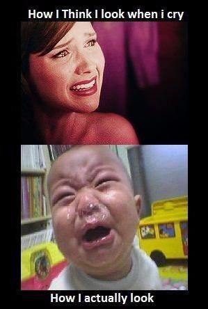 Expectation Vs Reality: Crying.