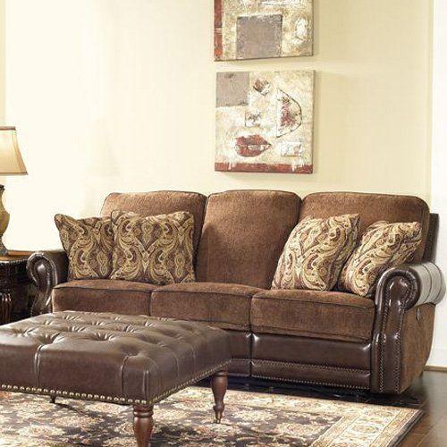 Barcalounger Vintage Jefferson Power Reclining Sofa - 392170550141