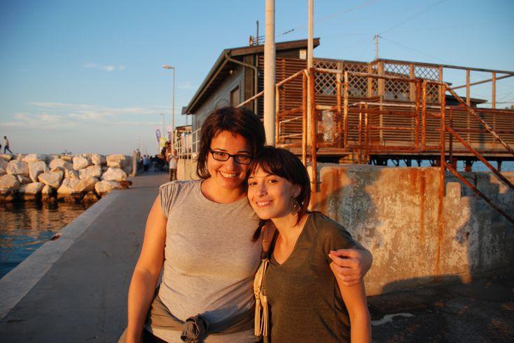 Sogni, mare, sorrisi, parole. Un'ondata di poesia e conoscenza che mi travolge: @Valentina Lepore (Rimini 21 settembre 2013)