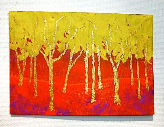 Twilight Woods 166 ARTIST TRADING CARDS 2.5 x 3.5 by MikeKrausArt