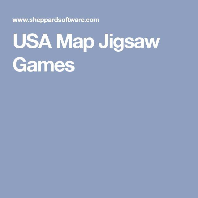 Proximity Game Usa Map Jigsaw Games