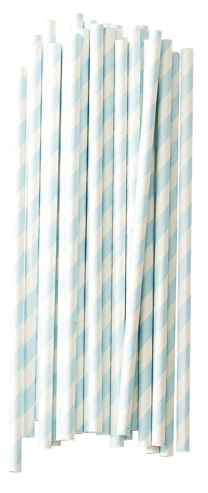 Miss Etoile sugerør blå striper miss etoile #missetoile
