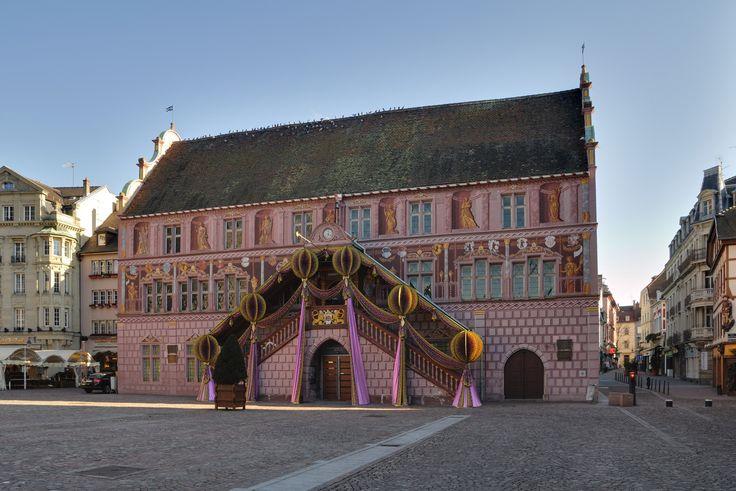 VOYAGER EN FRANCE | Mulhouse Town hall, #France, #voyagerenfrance
