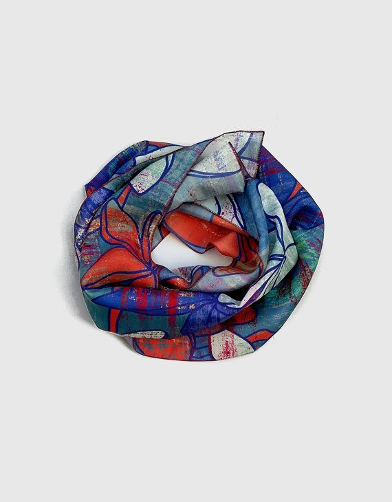 Hey, I found this really awesome Etsy listing at https://www.etsy.com/uk/listing/266802022/long-floral-silk-scarf-red-indigo-ladies