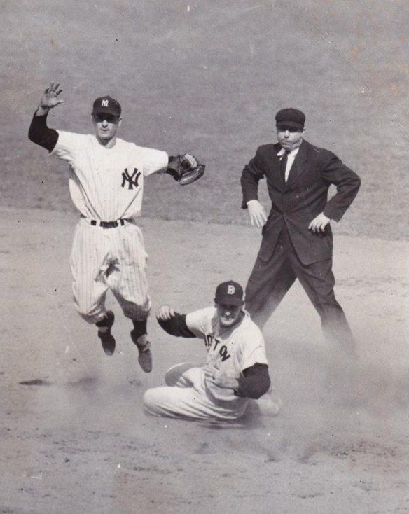 Ted Williams and Jerry Coleman
