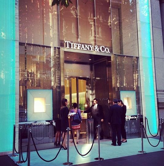 Breakfast at Tiffany's for the #NationalDesignerAward announcement @tiffanyandco @HARPER'S BAZAAR AUSTRALIA