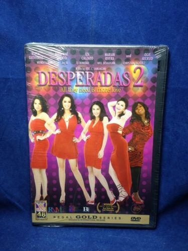 Desperadas 2 Marian Rivera & Ruffa Gutierres Filipino DVD