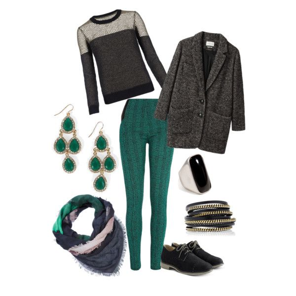 """""""Emerald Winter"""" by rshm on Polyvore"""