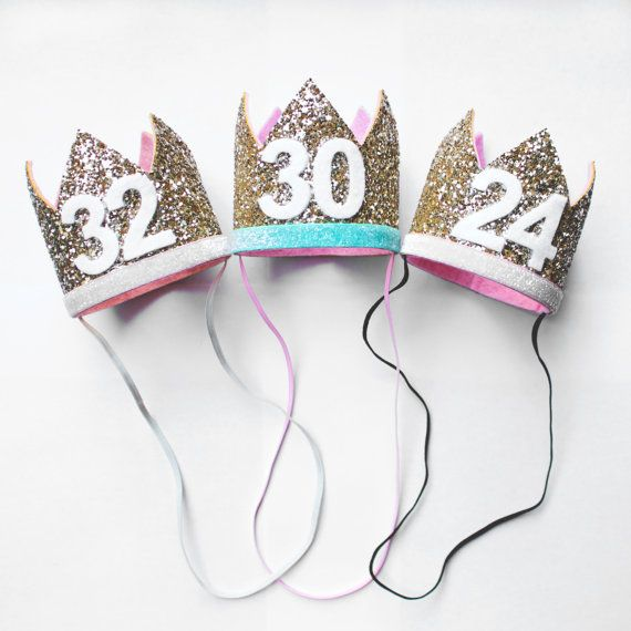Custom Birthday Hat By PreshToastCrowns On Etsy