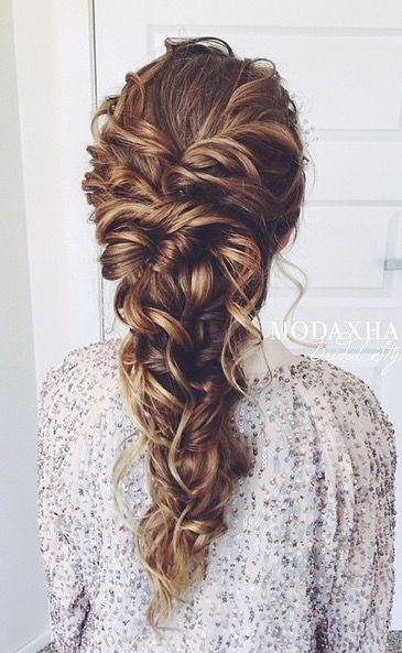 Awe Inspiring 1000 Ideas About Curly Braided Hairstyles On Pinterest Short Hairstyles Gunalazisus
