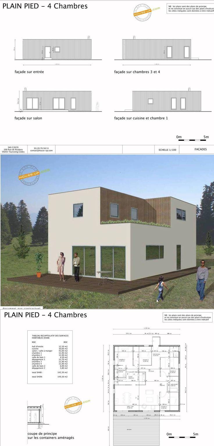 Les 149 meilleures images propos de maison de reve sur for Construction maison design pas chere