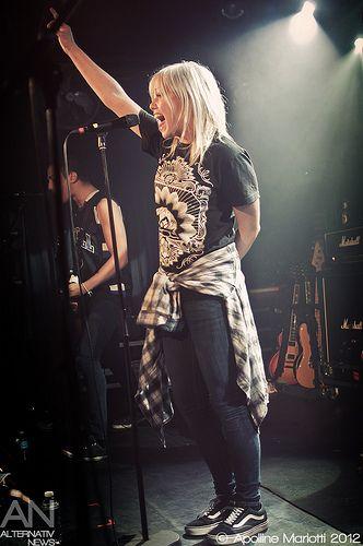 Jenna McDougall - Tonight Alive - Paris, La Maroquinerie - 18/01/2012
