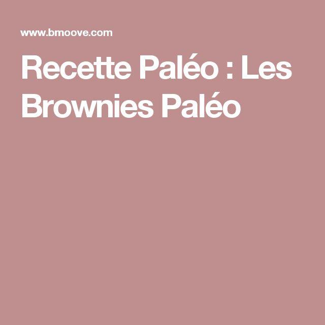 Recette Paléo : Les Brownies Paléo