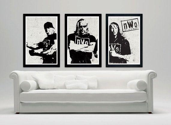 """NWO Vintage Wrestling Legends Poster - New World Order 12""""x18"""""""