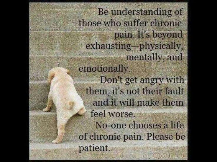 Leven met chronische pijn