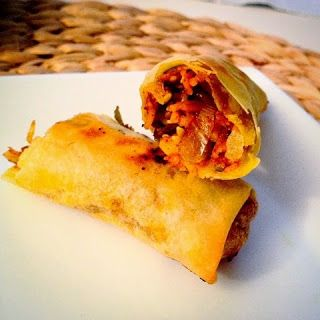 Storesøsters Kjøkken: Vårruller i stekovn (med indisk vri)