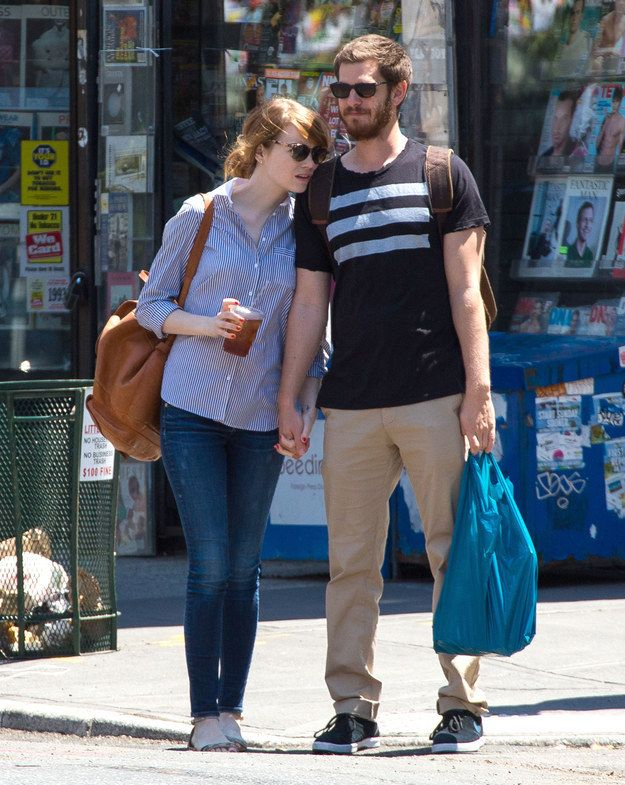 Emma Stone & Andrew Garfield | 18 Of Hollywood's Most Adorable Couples