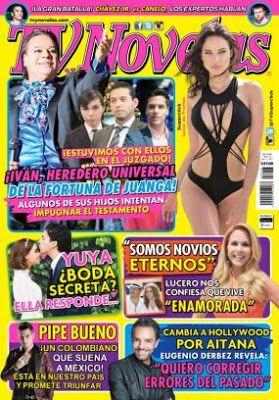 Nombre Revista :  TVyNovelas México                                                                                        ...