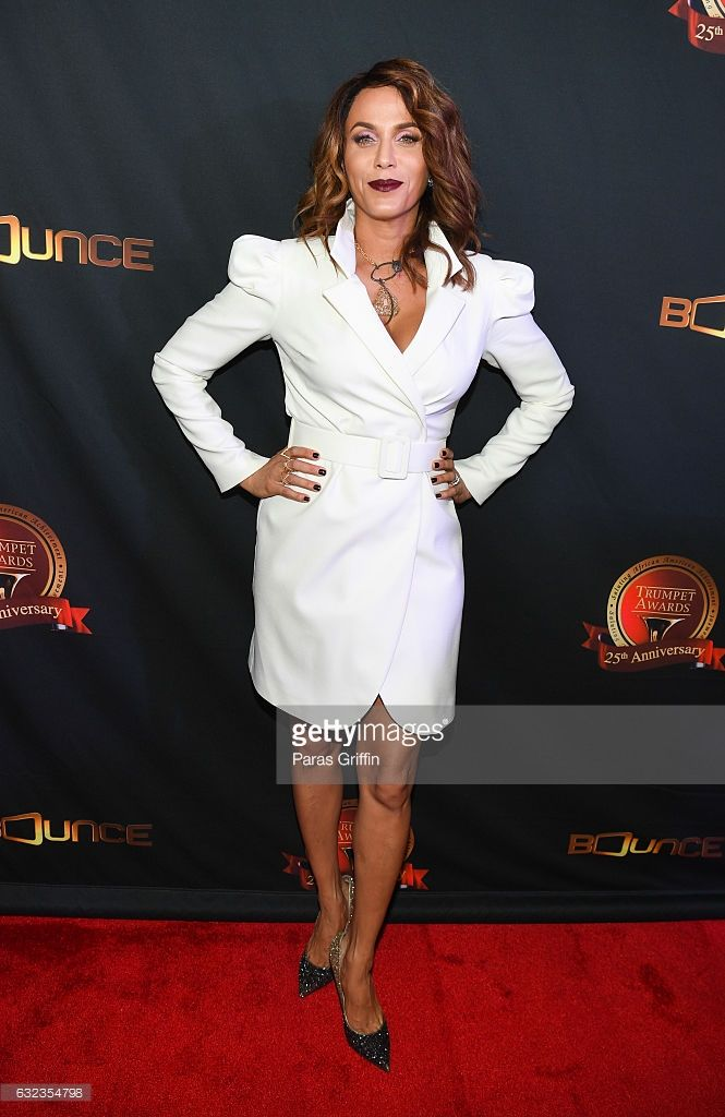 Actress Nicole Ari Parker attends 25th Annual Trumpet Awards at Cobb Energy Performing Arts Center on January 21, 2017 in Atlanta, Georgia.