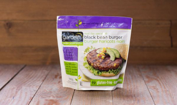 Garden Protein International Black Bean Burgers, 340g