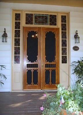 Best 25 Double Screen Doors Ideas On Pinterest French