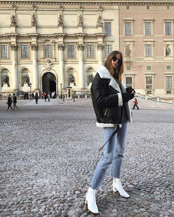 CLIQUEZ sur la picture POUR ACHETER cette incroyable veste d'hiver :) En simil…