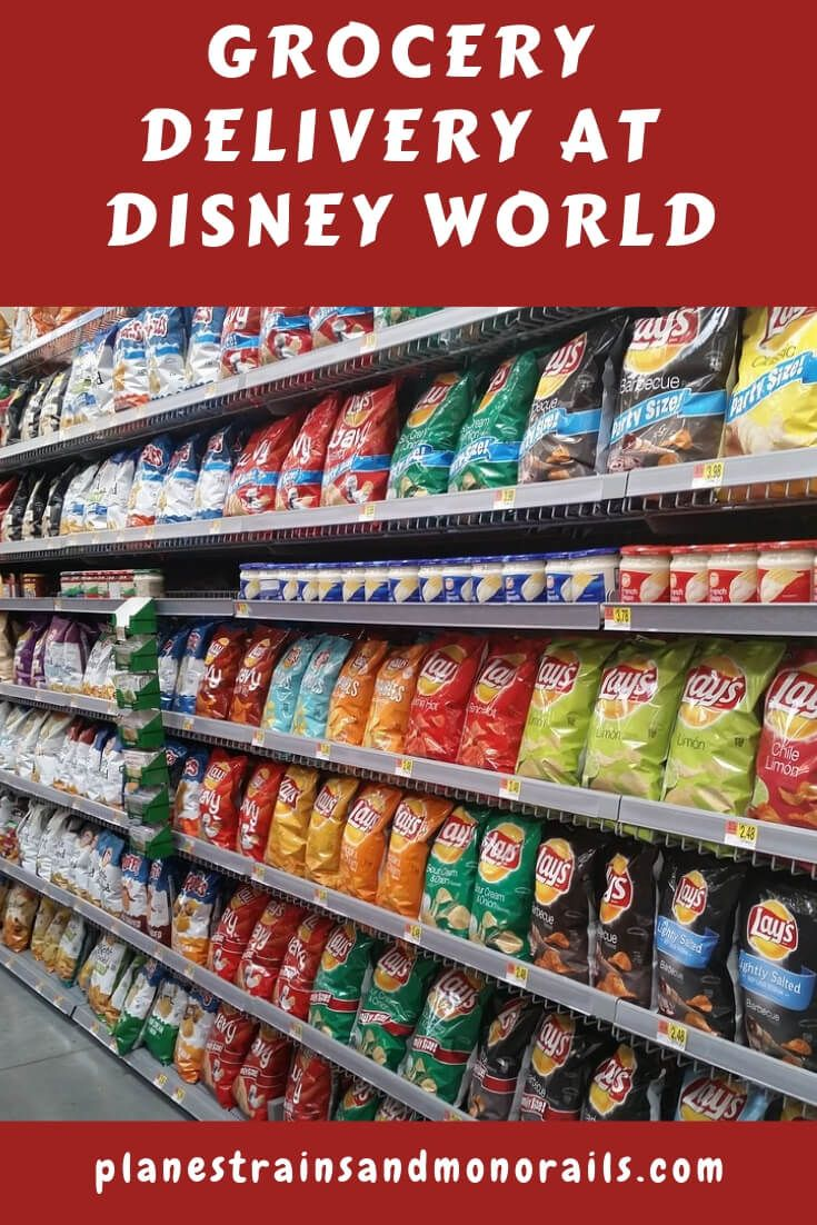 Grocery Delivery at Disney World | Disney World Tips and