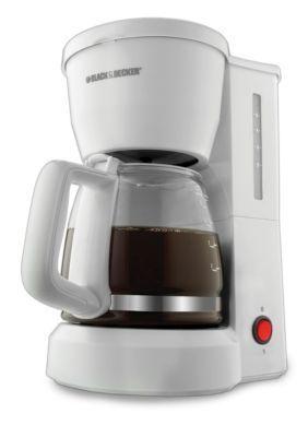 Black  Decker  5-Cup Coffee Maker DCM600W - Online Only