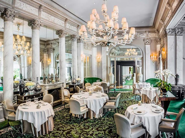 Most of the places on this list are here thanks to their prix fixe-only rates, but this spot has earned the distinction through its à la carte options: Duck foie gras goes for €100 (about $117), lobster with French caviar asks €145 ($170), and a tart-like lemon meringue dessert is €40 ($47).