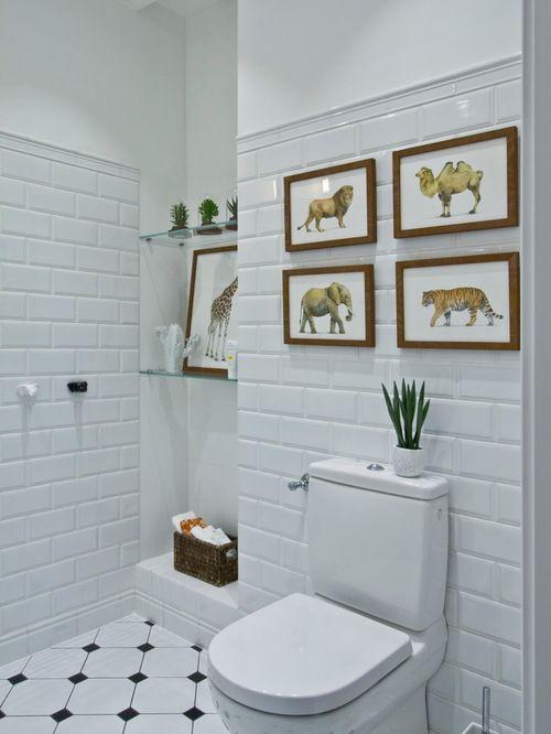 Ванные c плиткой кабанчик фото - 10 тыс, дизайн интерьера и декор ванной