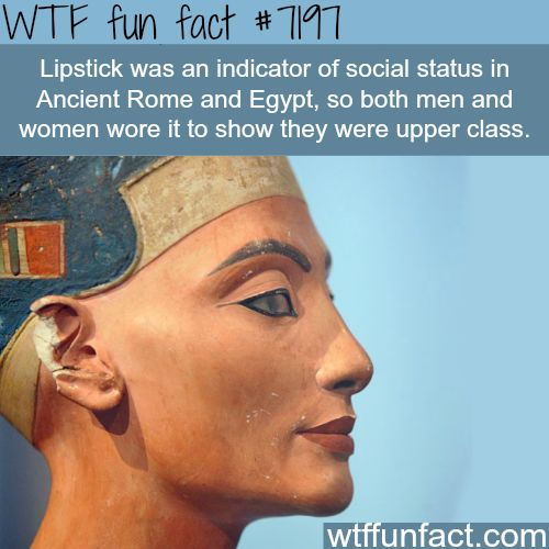 The history of Lipsticks - WTF Fun Fact
