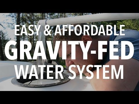 Off Grid Water Systems: Gravity Fed, Rain Barrels, Cisterns & Wells - Pure Living for Life