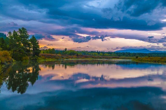 アメリカのグランドティトン国立公園。