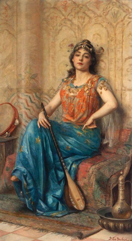Paul Antoine de La Boulaye (1902 – 1961) – Pintor Francês_11