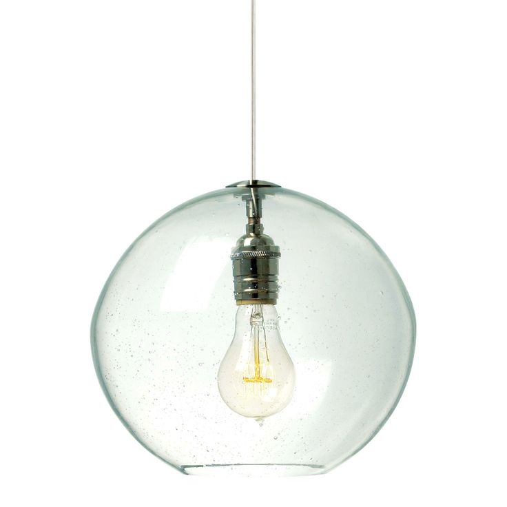 Lbl lighting isla pendant light uniquely hand blown for an irregular round shape the lbl lighting isla pendant light lends an artistic flair to your