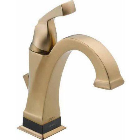 Delta Dryden Single Hole Lavatory Faucet with Diamond Seal, Available in Various Colors
