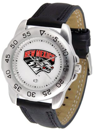 New Mexico Lobos Gameday Sport Men's Watch by Suntime: A true sports person's watch, the… #SportingGoods #SportsJerseys #SportsEquipment
