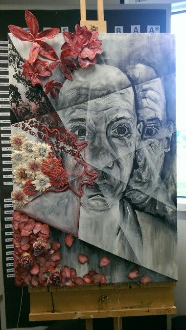 GCSE Art Exam Final Piece - Fragments