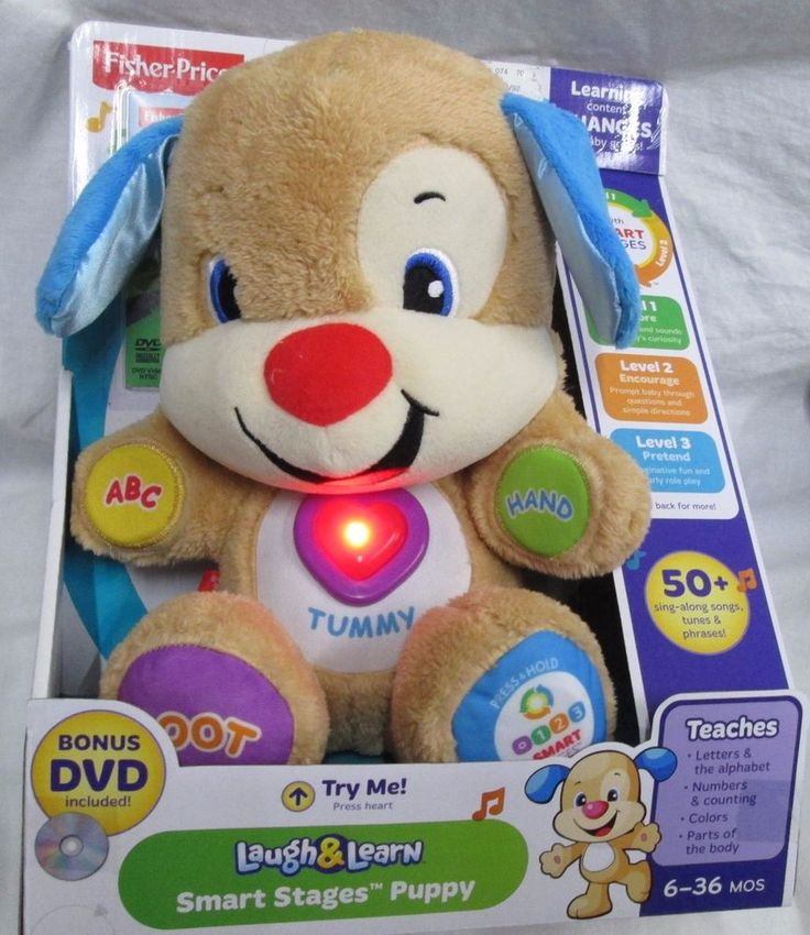 Fisher price laugh learn smart stages puppy learning